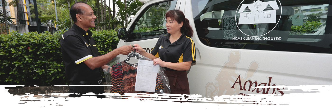 Laundry Service in Singapore with Delivery