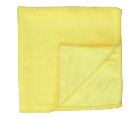 Double Textured Microfiber Cloth (Yellow)