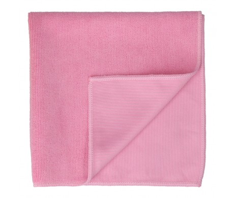 Double Textured Microfiber Cloth (Red)