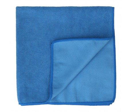 Double Textured Microfiber Cloth (Blue)